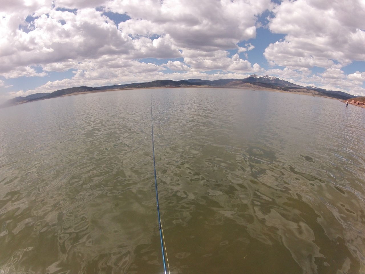 Sunday fly fishing bait and lures were used too the for Antero reservoir fishing