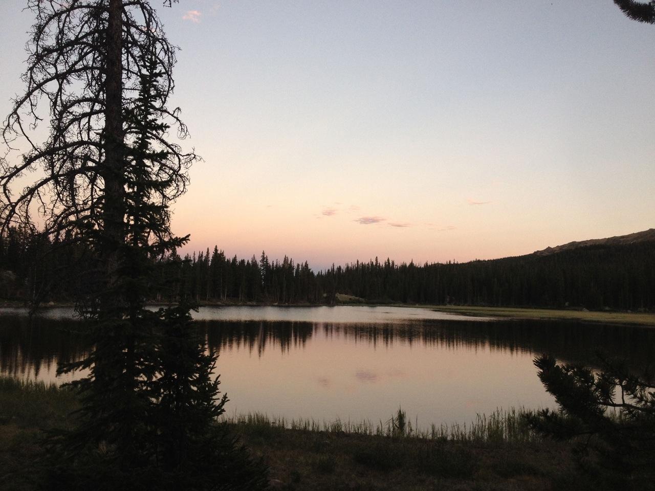 The Lake - Sunset