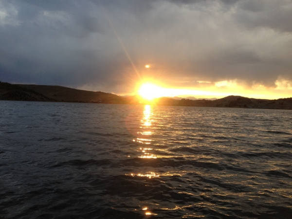 Tarryall Reservoir Sunset