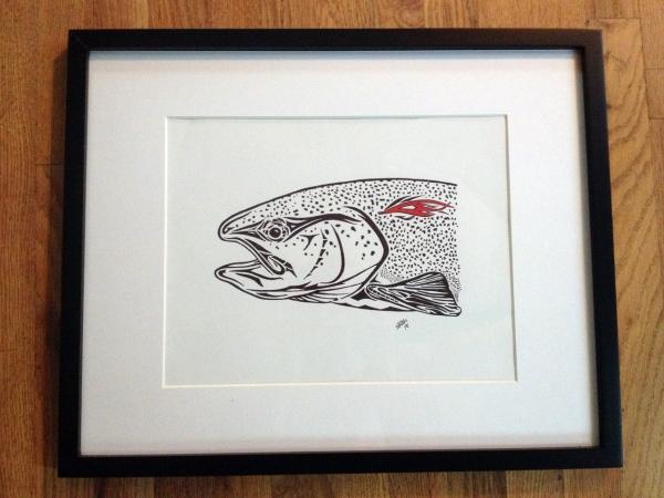 Trout Art 1