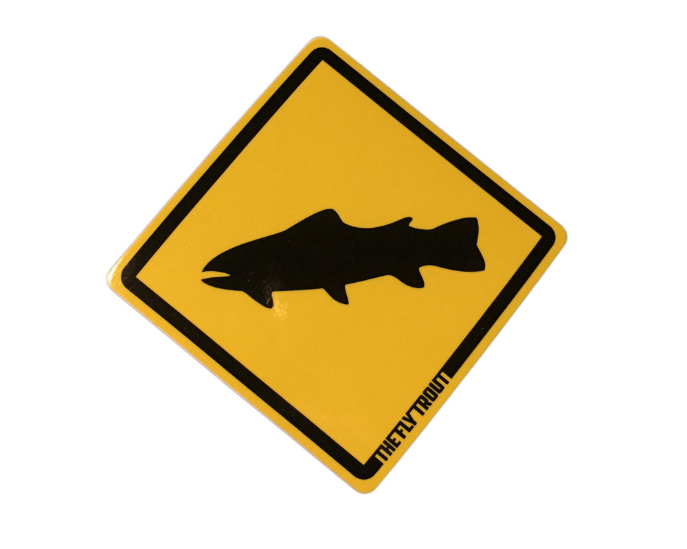 Trout Crossing Stickers