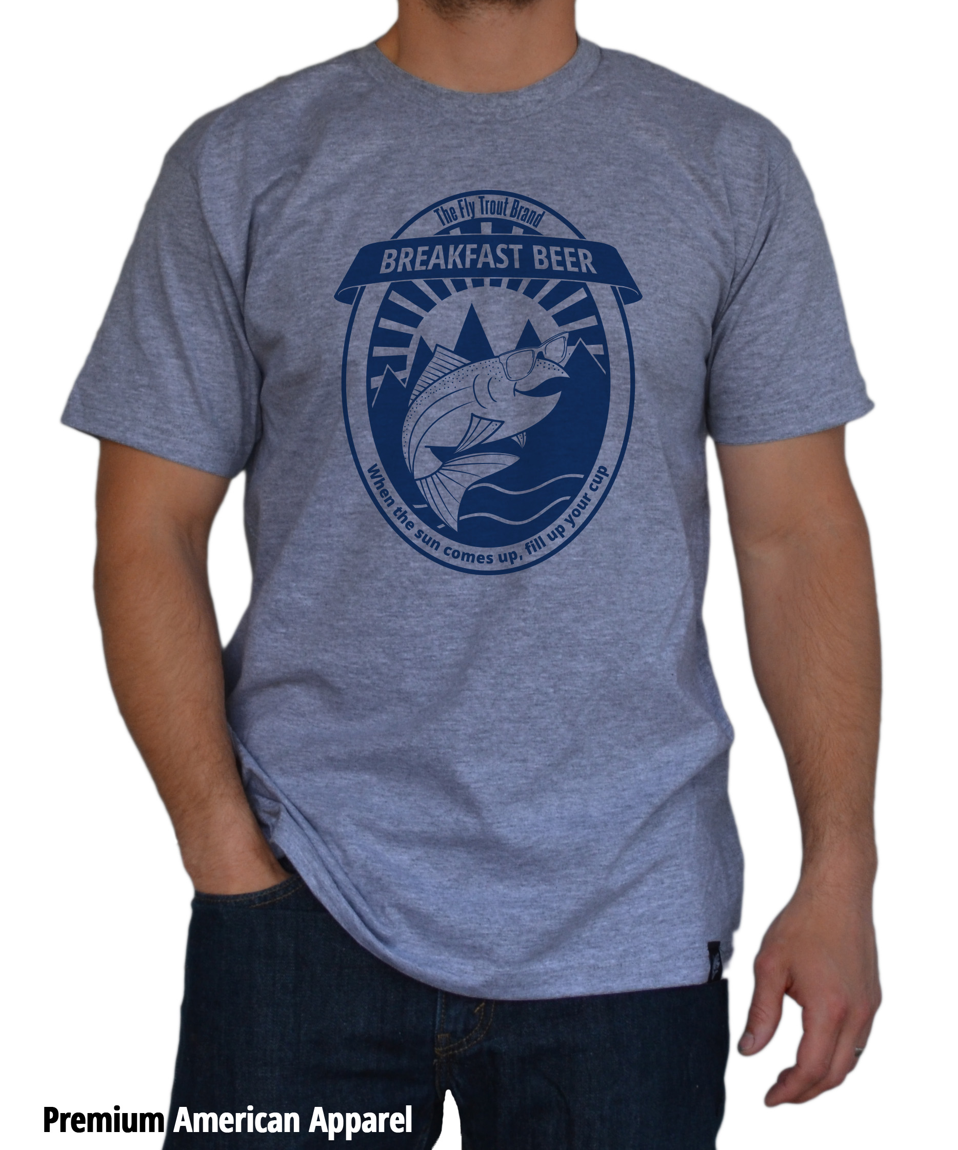 Fly fishing t shirts the fly trout fly fishing t shirts for Fly fishing hoodie