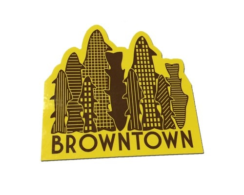 Browntown Stickers