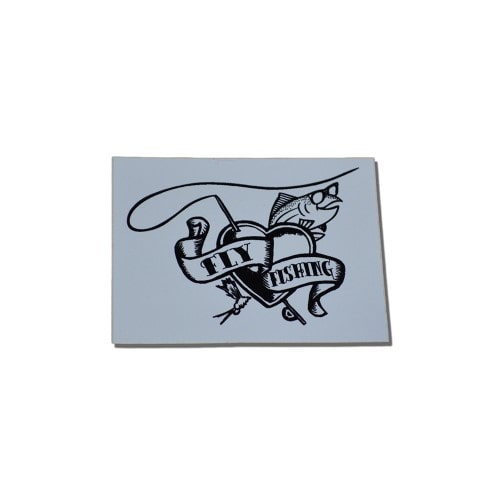 Fly Fishing Love Stickers