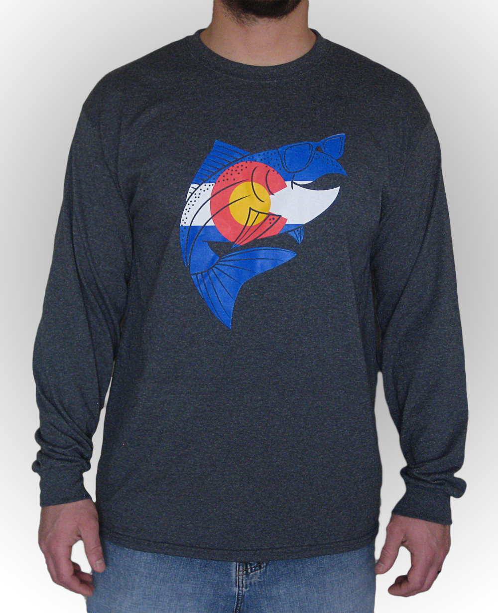 The Fly Trout Colorado Longsleeve T Shirt The Fly Trout