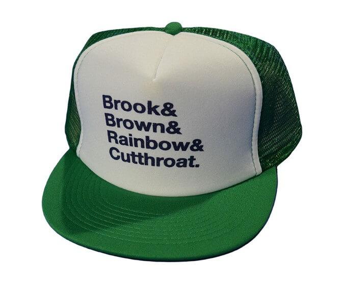 Trout Names Foam Trucker Hat