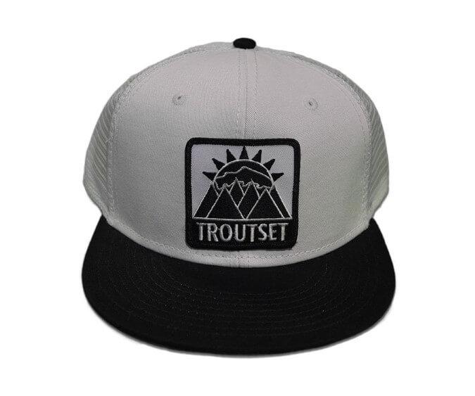 Troutset Hat - Mesh B&W