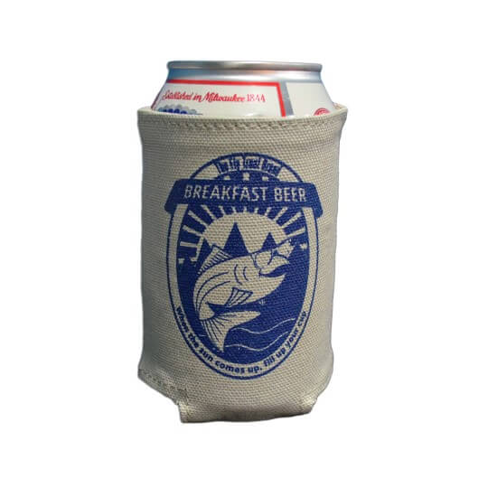 Breakfast Beer Can Sleeve