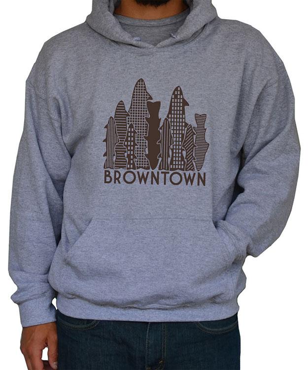 Browntown Hoodie