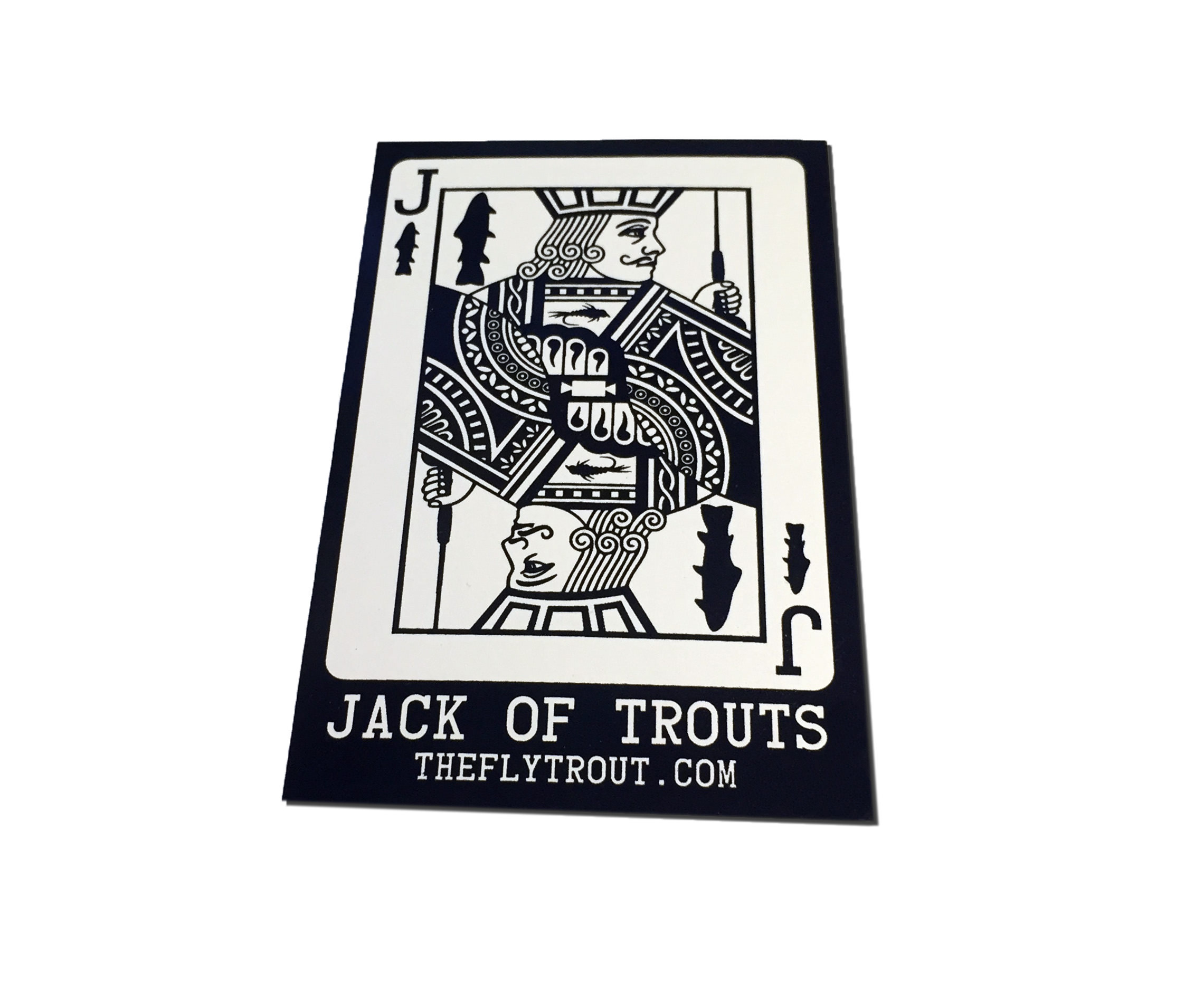 Jack of Trouts Stickers